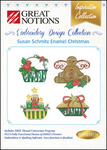 Great Notions Inspiration Collection Susan Schmitz Enamel Christmas Licenced Multiformat Embroidery Design CD