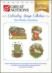Great Notions Inspiration Collection Tina Wenke Christmas Licenced Multiformat Embroidery Design CD