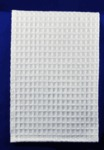 "Wholesale Linens 13-K330 Honeycomb Waffle Weave Towel White, 27.5""x19"""