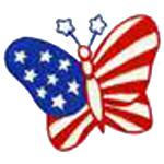 OESD 11549 Patriotic #5 Embroidery Design CD