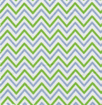 Fabric Finders 15 Yd Bolt 9.33 A Yd 1423 Periwinkle/Lime Chevron 100% Pima Cotton Fabric 60 inch