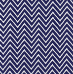 Fabric Finders 15 Yd Bolt 9.33 A Yd 1356-1 Royal Chevron 100% Pima Cotton Fabric 60 inch