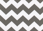 Fabric Finders 15 Yd Bolt 9.33 A Yd 1599 Grey Chevron 100% Pima Cotton Fabric 60 inch