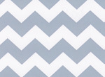 Fabric Finders 15 Yd Bolt 9.33 A Yd 1601 Blue Chevron 100% Pima Cotton Fabric 60 inch