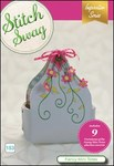 DIME 153BDEC-SS_FancyMini Stitch Swag CD, Fancy Mini Totes, 9 Variations +Lace Accents