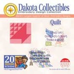 Dakota Collectibles 970194 Quilt  4X4 Multi-Formatted CD