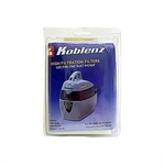 Koblenz PV-3000 Filter Pack for use with the Koblenz PV-3000, 3 paper filters, 2 foam filters & 2 rubber bands