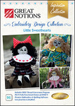 Great Notions 96BDEC Little Sweethearts Doll Embroidery Designs CD