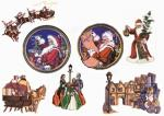 Balboa Threadworks 65A Christmas Collection 6 4x4 Embroidery Disks