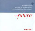 Singer Futura Auto Punch  Digitizing Software For the CE 100 Embroidery Machine (included in CE 200)