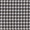 Fabric Finders 15 Yard Bolt 9.34 A Yd 752 100% Pima Cotton Fabric 60 inch Black Houndstooth Twill