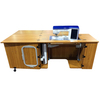 """Sylvia Design 2400 Sewing Cabinet 78x30"""" +Large Cutout 28-3/8x14-3/16"""" for Top of Line Brother, Babylock, Bernina, Pfaff, Viking*"""