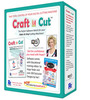 Floriani Quilters Select CraftNCut Software Bundle for Fabric/Vinyl Digital Cutting Machines, 200 Hope Yoder Designs, AppliStick, Perfection Tape, DVD