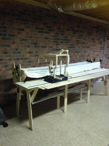 Grace Metal Carriage Platform and Handles to Upgrade older Wood ... : proflex quilting frame - Adamdwight.com