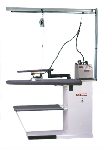 Hi Steam Commercial Pnd 3000a Heated Vacuum Ironing Board