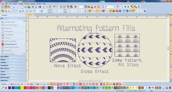 Bernina Designer Plus V8 Embroidery Digitizing Software V81 Color