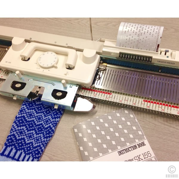 knitting machine silver reed
