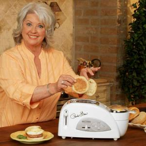 Back to Basics TEM500PDWH Paula Deen Egg & Muffin Toaster White