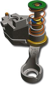 Bernina 101786 70 00 New 72 Free Motion Ruler Work Foot