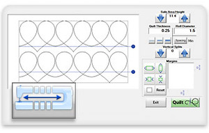 Grace Qct 4 Quilters Creative Touch Software Quiltmotion
