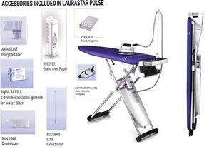 laurastar ls pulse steam iron vacuum ironing board 3d solepl