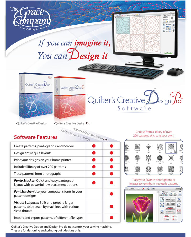 Quilt Creative Design Software