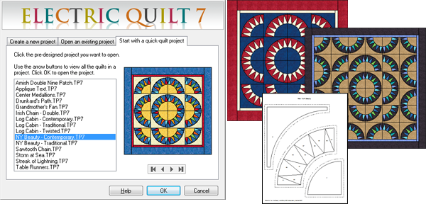 Start with a quick-quilt
