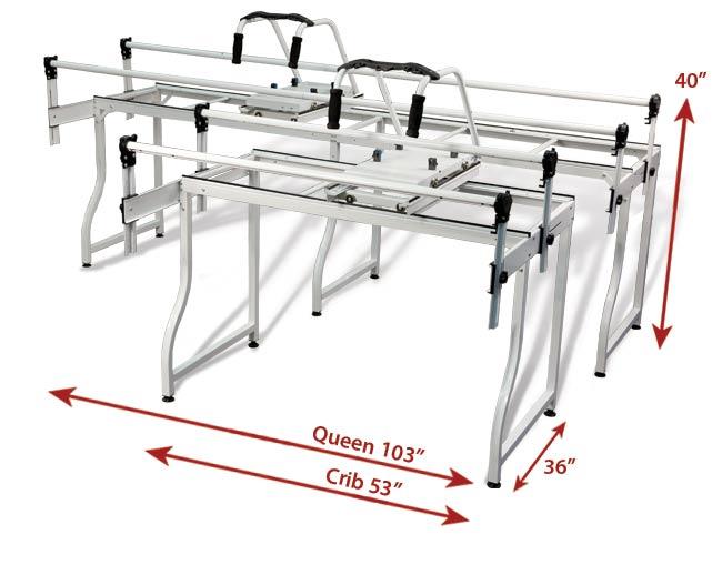 Grace Sr2 Start Right Machine Quilt Frame Queen New