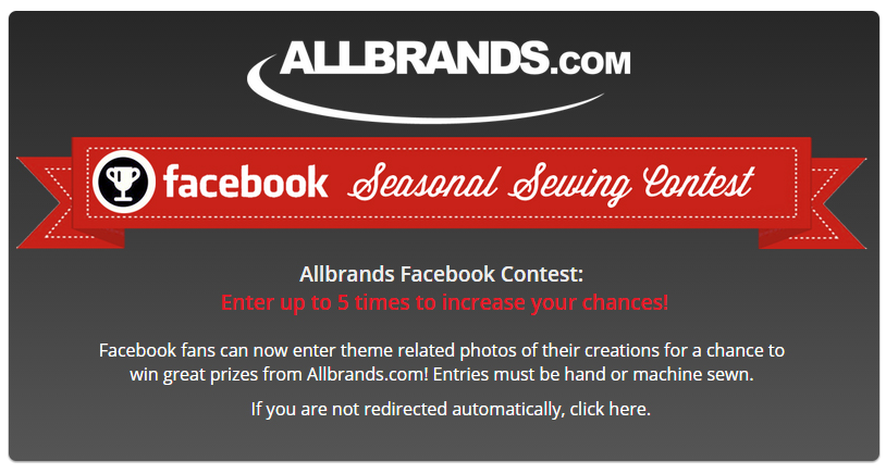 Allbrands Facebook Contest