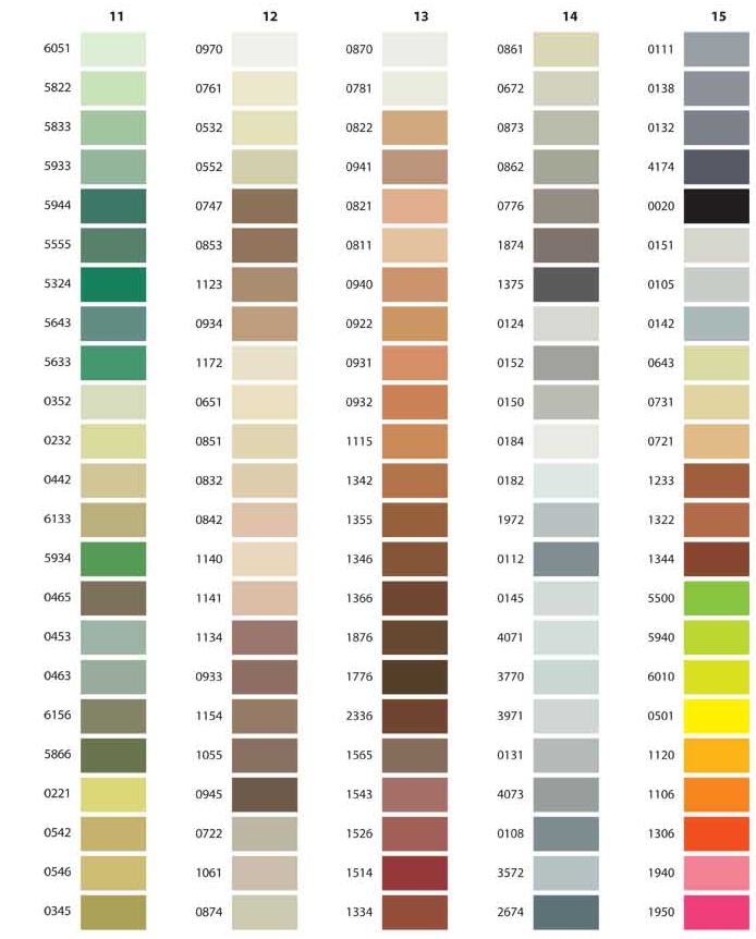 Color Chart pg.3