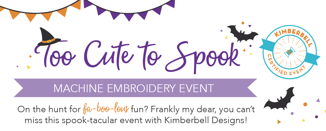 Kimberbell Designs Too Cute To Spook