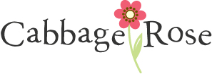 Cabbage Rose Patterns Logo
