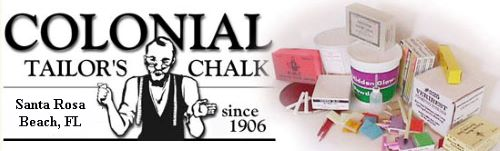 Colonial Tailor's Chalk Logo