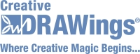Creative Drawings Logo