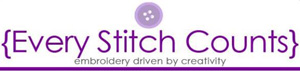 Every Stitch Counts Logo