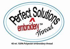 Perfect Solutions Embroidery Thread Logo