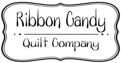 Ribbon Candy Quilt Company Logo