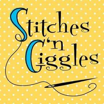 Stitches N Giggles Logo
