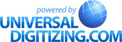 Universal Digitizing Logo