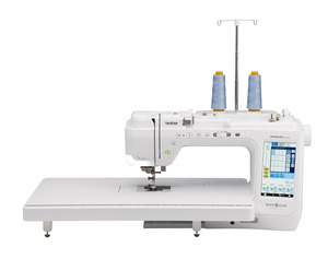"Brother BQ2450, 561 StitchQuilt Club Sewing Machine, 11.25"" Arm Space, 14 Buttonholes, Bonus Quilt Bundle* Included Replaces VQ2400"