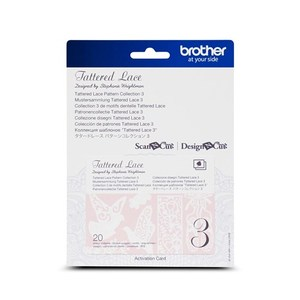 Brother CATTLP03 Tattered Lace Pattern Collection #3 for ScanNCut Canvas