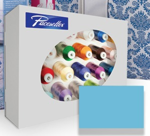 90252: Brother XP1 Luminaire Promo: 24 Embroidery Thread Colors Kit Set