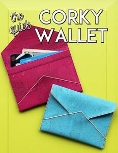 Sassafras Lane Designs SASSLN0062 The Quick Corky Wallet