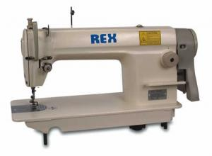 Rex REX8500 Single Needle Lockstitch Industrial High Speed Sewing Machine RX8500, Assembled Power Stand, 5500RPM, Auto Oil - FREE 100 16x231 Needles