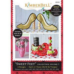 90973: Kimberbell KD559 Sweet Feet Santa's Elf - Volume 1 Embroidery Designs CD