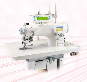 60829: Juki LZ-2290A-SS-7 Industrial 1-2-3 Step Zigzag Sewing Machine, Stand