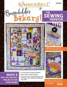 Kimberbell KD720 Broomhilda's Bakery, Quilt Pattern Sewing Version