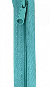 Patterns by Annie ZIP24-212 Turquoise Zipper