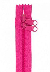 """90997: Annie Handbag Zippers ZIP30-252 30"""" Double Slide-Raspberry"""
