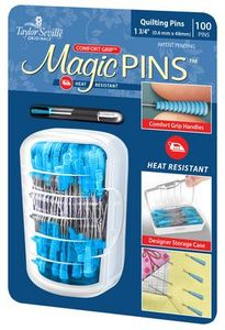 Taylor Seville Originals MAGICP100, Magic Pins 1.75 in 100 pins